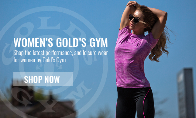 shop womens golds gym clothing