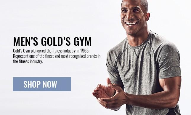 mens golds gym gear