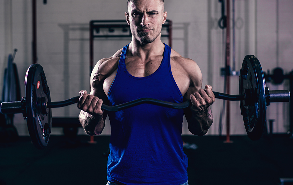 mens iconic gym stringers